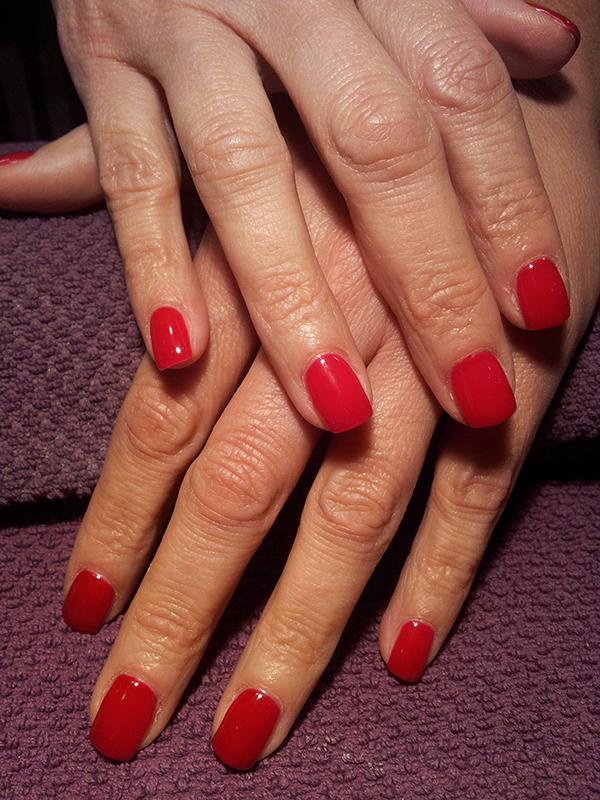 Red Canapè colour gel 141